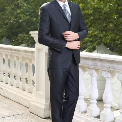 men's business casual suit wedding..