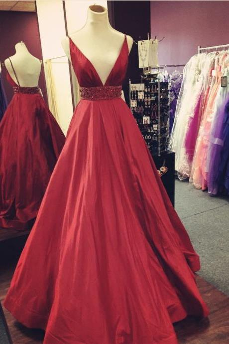 burgundy prom dress,ball gown dress,long formal dresses 2018,sexy evening dress