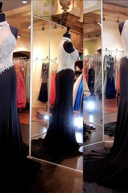 2017 new black Evening Dress Prom Dress Prom Dresses