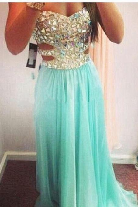 Prom Dress,Heavy Beaded Prom Dress,Sexy Prom Dress,Sweetheart Prom Dress,Chiffon Prom Dress,Party Gowns,Long Prom Dress,Cheap Prom Dress,Fashion Prom Dress