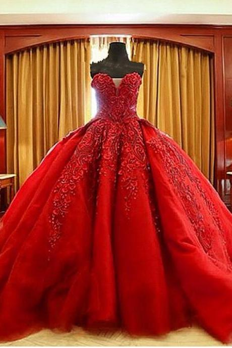 Wedding Dresses,Luxury Wedding Dress,Handmade Wedding Dress,Lace Wedding Dress,Ball Gown Wedding Dress,Beaded Wedding Dress,Sweetheart Wedding Dress,Red Wedding Dress,Embroidery Wedding Dress,Gothic Bridal Dress,Top Quality Wedding Dress,Long Wedding Dress