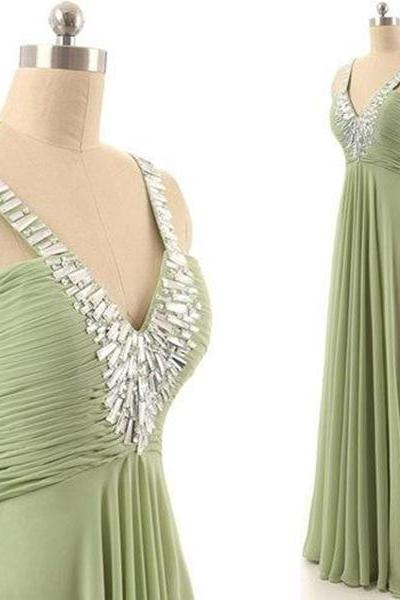 Prom Dresses,Evening Gowns,Simple Formal Dresses,Prom Dresses,Teens Fashion Evening Gown,Beadings Evening Dress,Party Dress,Chiffon Prom Gowns