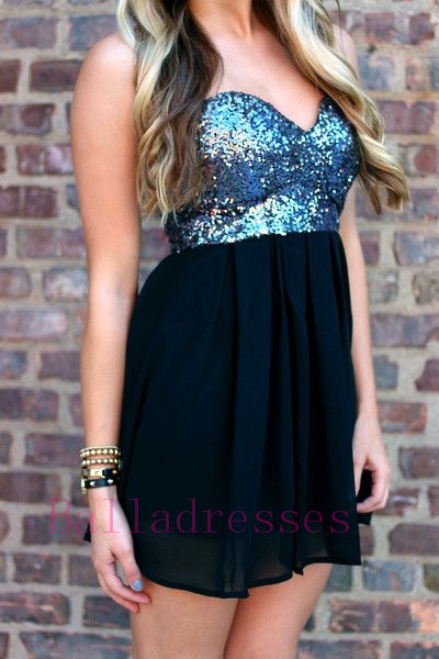 Homecoming Dress,Sparkle Homecoming Dresses,Sequined Homecoming Gowns,2016 Fashion Prom Gowns,Sparkly Sweet 16 Dress,Sequin Homecoming Dresses,Unique Cocktail Dress,Modest Parties Evening Gowns
