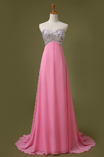Long Evening Dress, Chiffon Evening Dresses,Long Prom Dress,Sexy Prom Dresses