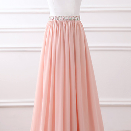 Rose official evening news Dresse tank sleeveless chiffon hell to drink a Beading gown for a long evening dress